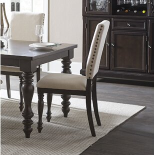 Yarger Upholstered Dining Chair (Set of 2) Alcott Hill
