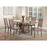Lyerly 7 Piece Dining Set by Red Barrel Studio®