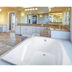 Alexandria 72 x 36 Soaking Bathtub Clarke Products