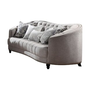Buy luxury Tinsman Vintage Button Tufting Sofa by Everly Quinn Reviews (2019) & Buyer's Guide