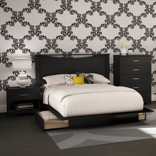 Step One Queen Platform Configurable Bedroom Set by South Shore