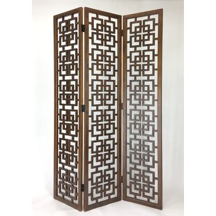 Agnew 3 Panel Room Divider by Bloomsbury Market