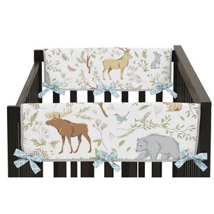 Best Reviews Woodland Toile Rail Guard Cover (Set of 2) BySweet Jojo Designs