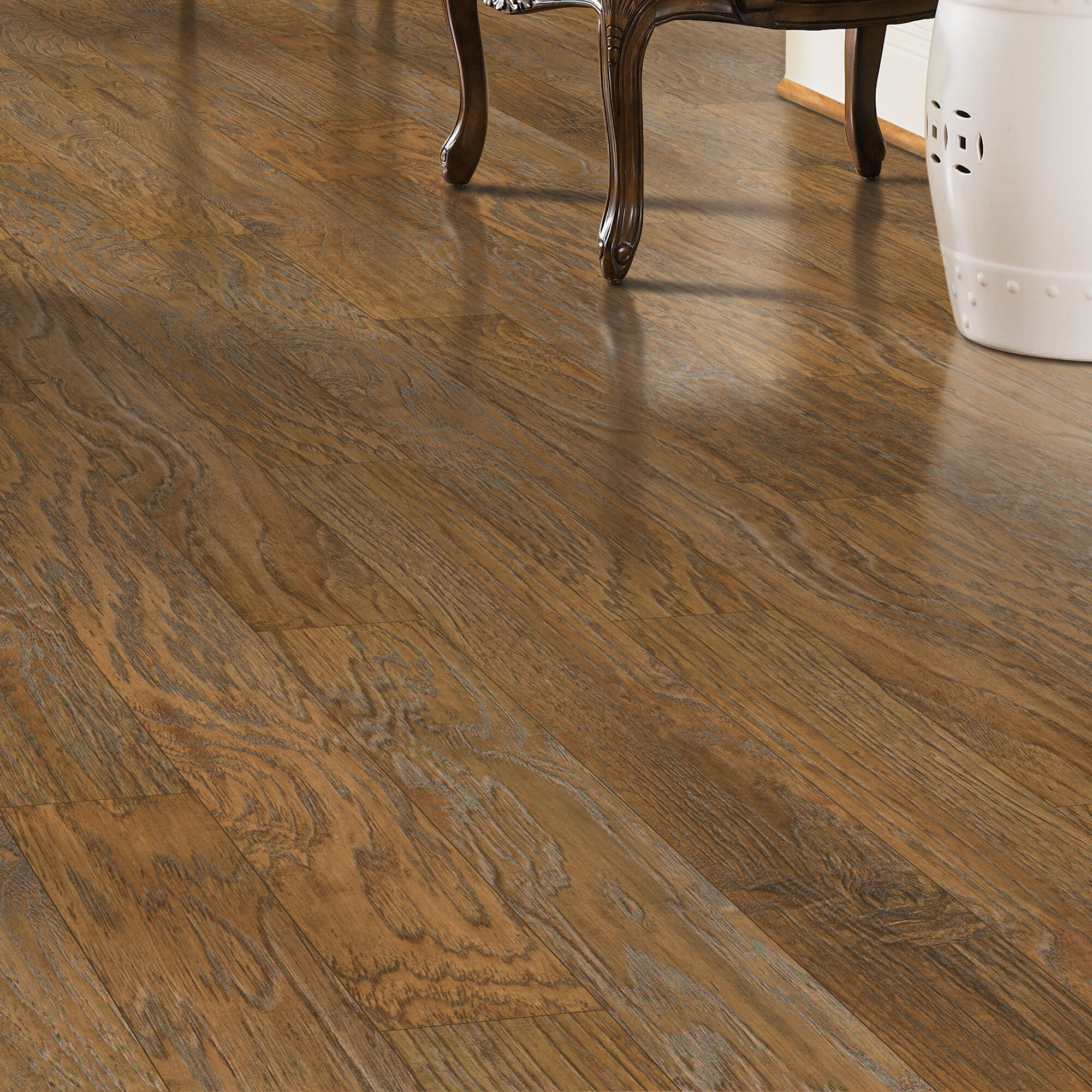 Barfield 5 X 47 8mm Hickory Laminate Flooring