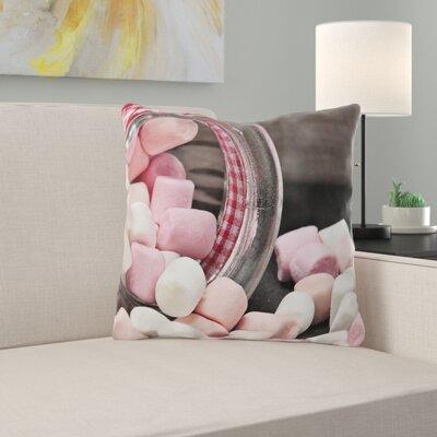 Bacon IndoorOutdoor Throw Pillow East
