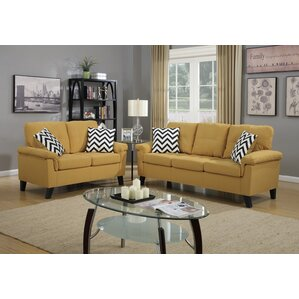 Infini Furnishings 2 Piece Living Room Set