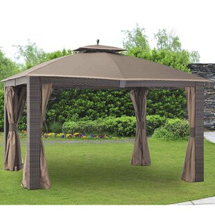 Mosquito Netting for 12u0027 W x 10u0027 D Sonoma Gazebo  sc 1 st  Wayfair & Mosquito Netting For Patios | Wayfair