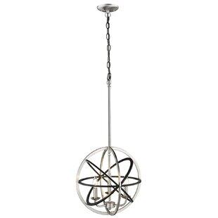 Wrought Studio Travis 3-Light Globe Chand..