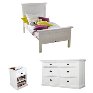 Amityville Platform Configurable Bedroom Set by Beachcrest Home New