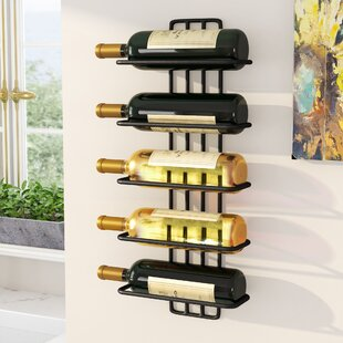 Williamstown 5 Bottle Wall Mounted Wine Rack