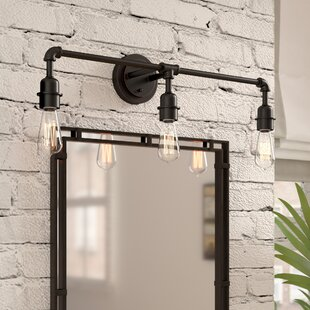 Affordable Price Kash 3-Light Metal Vanity Light By Williston Forge