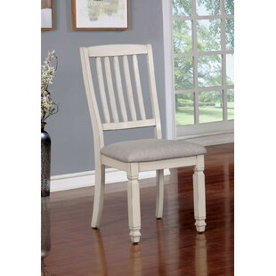 One Allium Way Clio Upholstered Dining Chair (Set of 2)