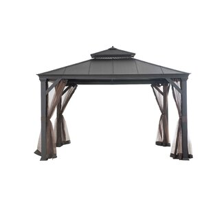 Mosquito Netting for Bar Harbor Hardtop Gazebo by Sunjoy