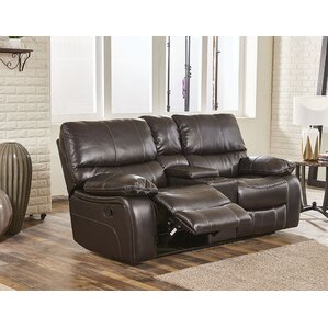 Valarie Reclining Loveseat by Darby Home Co