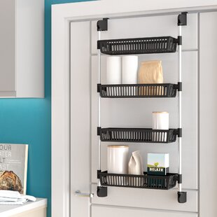 Symple Stuff Keown Overdoor Basket Unit