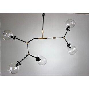 Corrigan Studio Gillian 5-Light Sputnik Chandelier