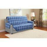 Plaid Furniture Protector Sofa Slipcover by Charlton Home®