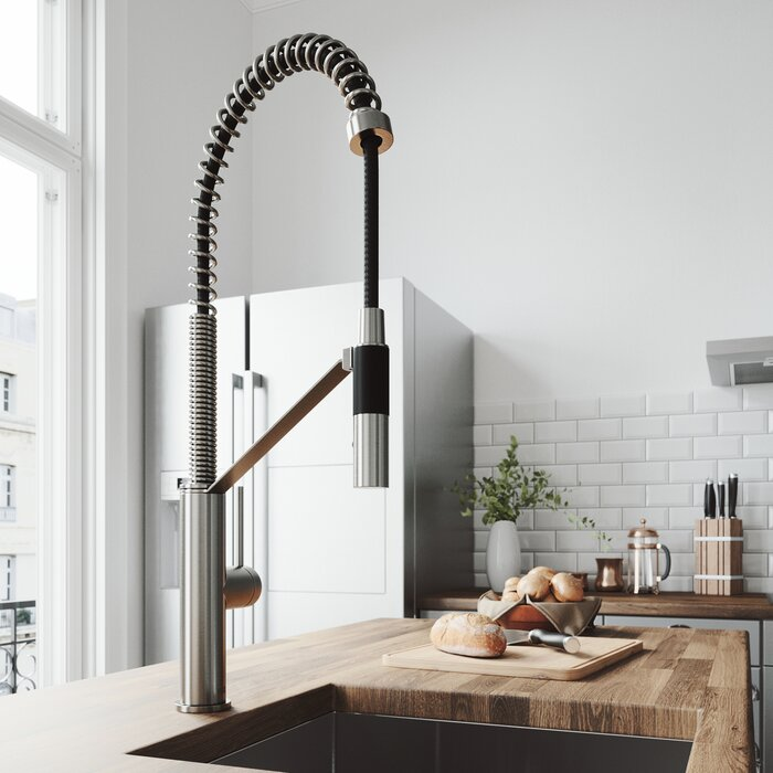 Image result for faucet with magnetic pull-down""