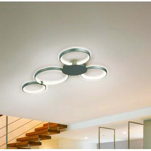 Best Doveton 4-Light LED Flush Mount By Wade Logan