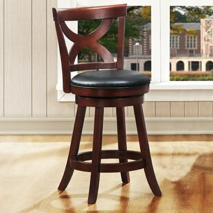 Aislinn 24 Swivel Bar Stool Andover Mills