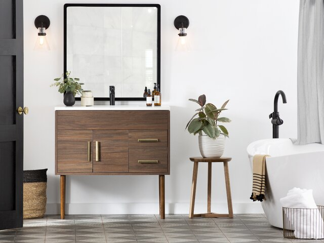Astonishing Modern Bathroom Vanities Cabinets Allmodern Best Image Libraries Sapebelowcountryjoecom
