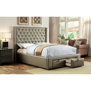 Rosdorf Park Kristopher Upholstered Storage Platform Bed