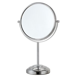 Price Check Free Standing Makeup Mirror By Glimmer by Nameeks