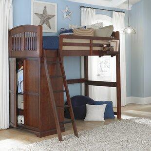 Nickelsville Locker Loft Bed
