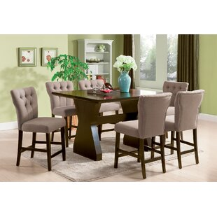Meyersdale 6 Piece Counter Height Dining Set