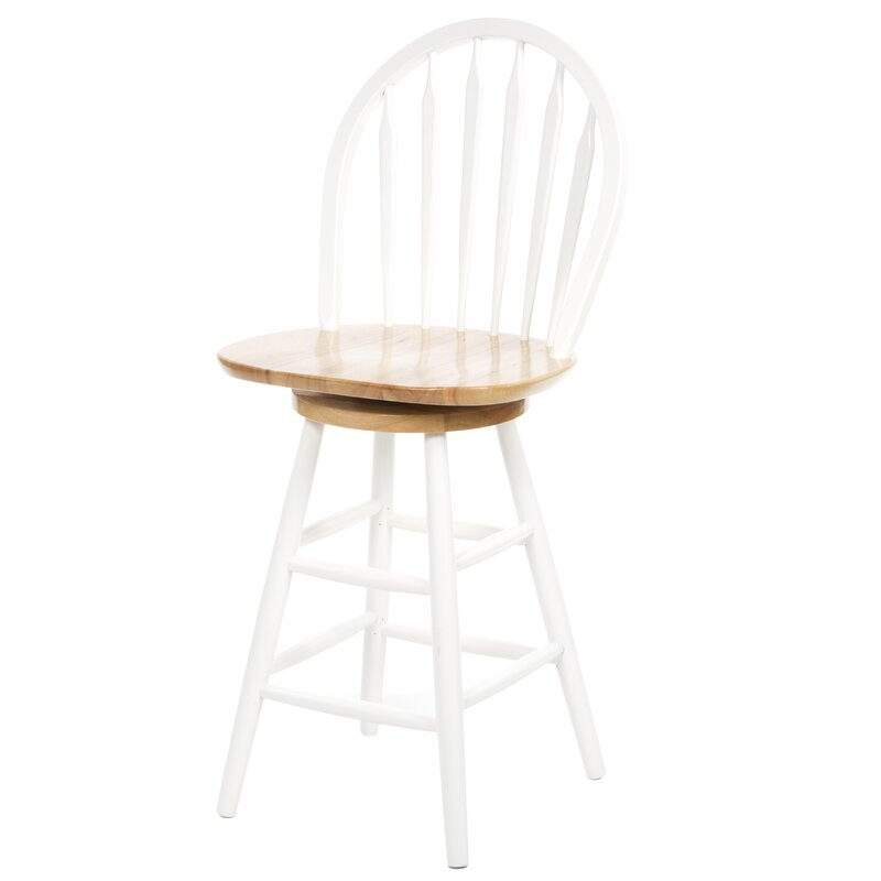 30\  Swivel Bar Stool  sc 1 st  Wayfair & August Grove 30\