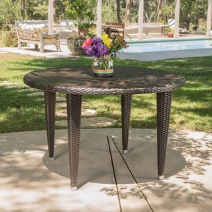 Crantor Outdoor Wicker Dining Table