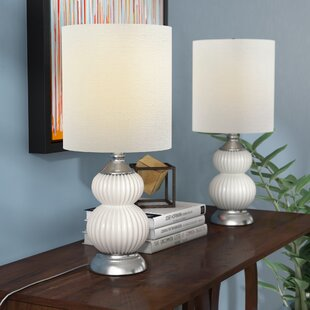 Cianne Glass 21 Table Lamp Base (Set of 2)