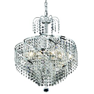 House of Hampton Landman 8-Light Chandelier