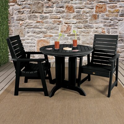 Trigg 3 Piece Bistro Set by Darby Home Co 2020 Coupon