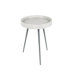Marble Top 3 Legs End Table By Zuiver