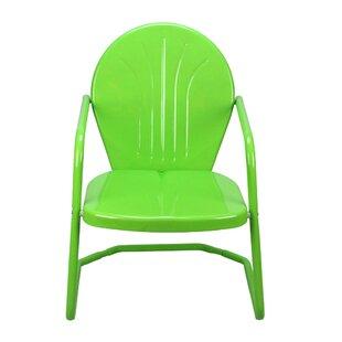 Retro Metal Outdoor Chairs Wayfair