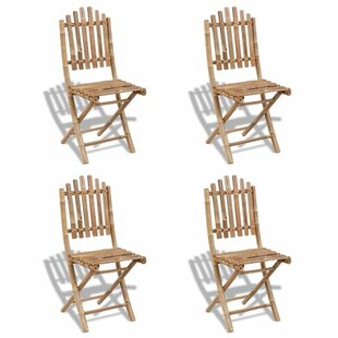Elmhur Folding Garden Chair (Set Of 4) By Bay Isle Home