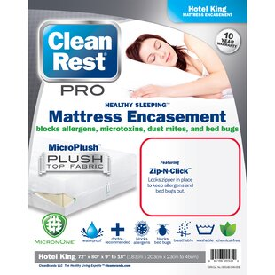 Pro Hypoallergenic Waterproof Mattress Cover (Set of 3)