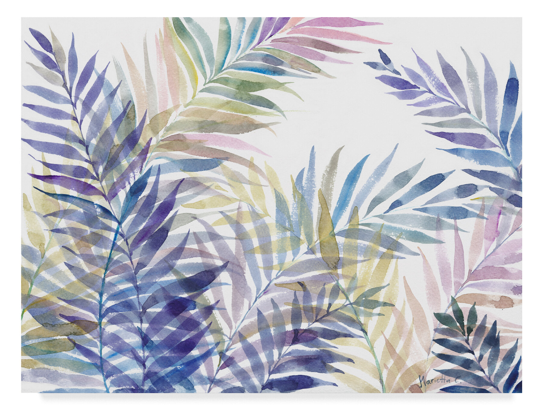 Bay Isle Home Tropical Leaves Acrylic Painting Print On Wrapped Canvas Wayfair Thank you very much for making it easy to follow and not overwhelming with unnecessary words 🙂. tropical leaves acrylic painting print on wrapped canvas