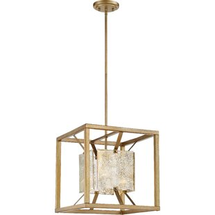 Look for Highlawn 1-Light Square/Rectangle Pendant By Mercer41