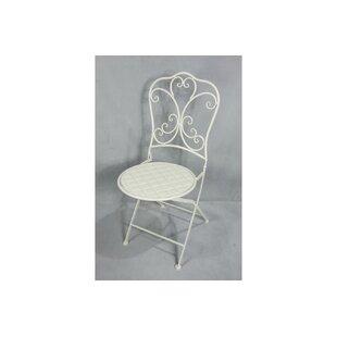 Caswell Folding Garden Chair By Fleur De Lis Living