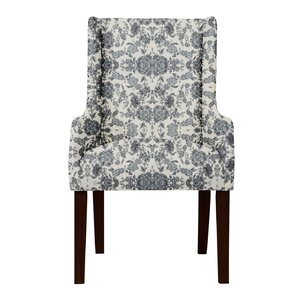 Larrabee Beige/Blue Arm Chair by Red Barr..