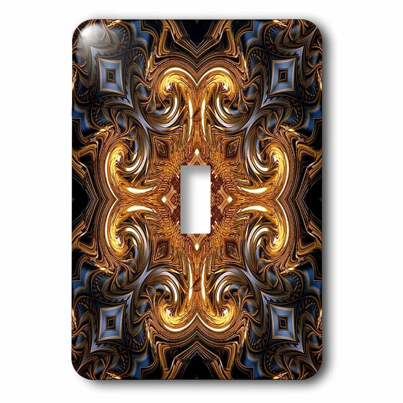 3drose Elegant Cross Mandala 1 Gang Toggle Light Switch Wall Plate Wayfair