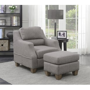 Slough Armchair and Ottoman