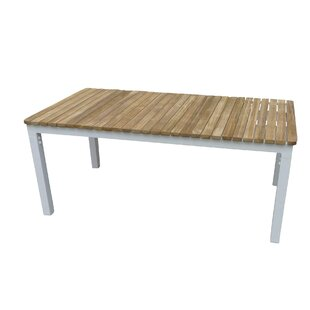 Steven Aluminium Coffee Table By House Of Hampton