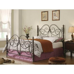 Cilley Fine-Looking Metal Queen Open-Frame Headboard