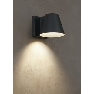 Compare prices Hirsch Outdoor Sconce By Brayden Studio