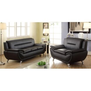 Gilreath 2 Piece Living Room Set by Orren Ellis