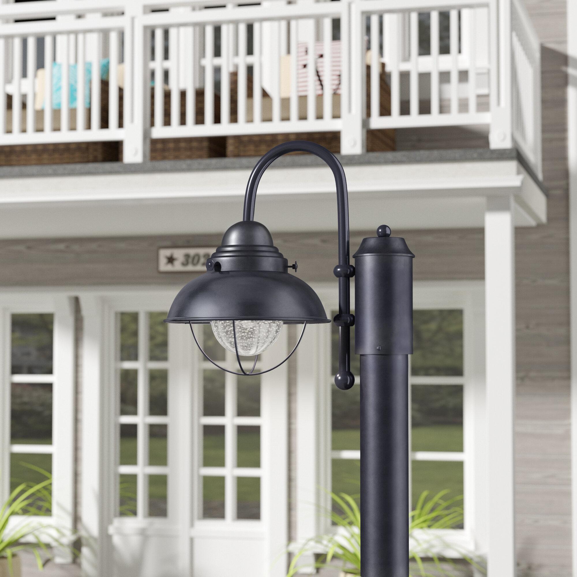 Beachcrest Home Salvaggio 1 Light Led Lantern Head Reviews Wayfair