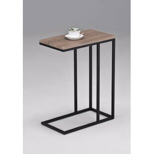 Siena Wooden Top Snack Side End Table by Latitude Run